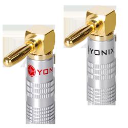 Yonix Winkel-Bananenstecker BSY-645